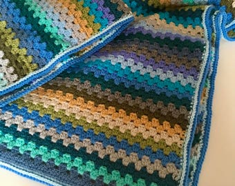 Hand made cot/lap blanket