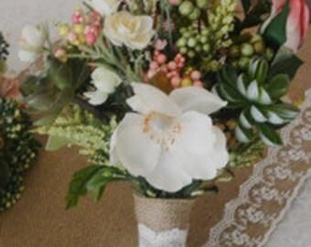 English Garden Bridesmaid Bouquet