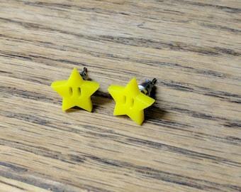 Starman earrings