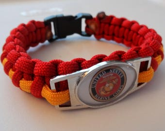 USMC Paracord Bracelet