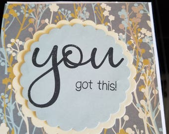 encouragement card