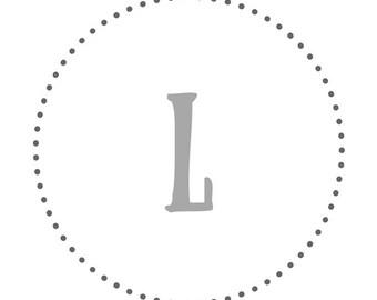 Love Alphabet Letters Set 7x7inch prints