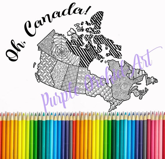 Canada Map Sales.Canada Mapprintable Etsy Sales Mapsales Trackercoloring