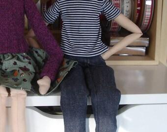 """OOAK art doll - """"Ed"""""""