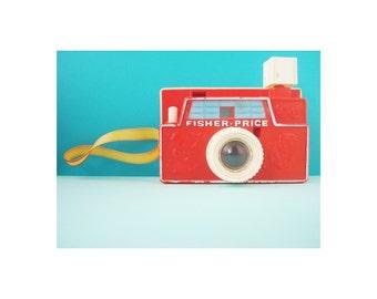 fisher price camera print