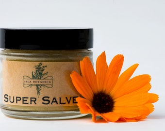 Super Salve: Great first aid for rashes, burns, cuts, scrapes, and dry, irritated skin