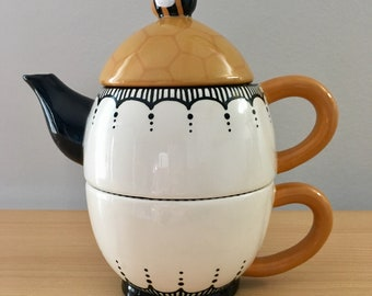 Tea-for-One Teapot- Honeybee Tea