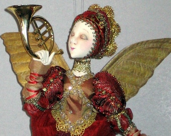 HAROLD, the ANGEL - PDF doll pattern