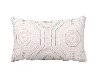 Blush Pink Pillow Cover, Pink Throw Pillow Cover, Decorative Throw Pillow,  Pink Pillowcase. Geometric Pillow, Pink Pillow Sham, Pink Pillow