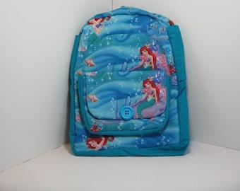 Little Mermaid Preschool Backpack