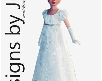 Regency Dress Pattern for Ellowyne