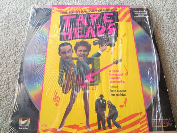 David Jones Personal Collection Record Album - Michael Nesmith Presents - Tape Heads - Laser Videodisc
