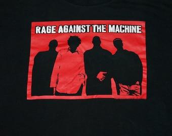 XL * vtg 90s Rage Against The Machine t shirt * 29.185