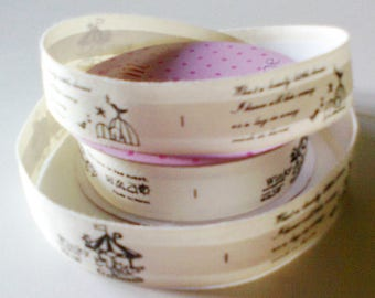 cotton tape Ribbon: lovely little