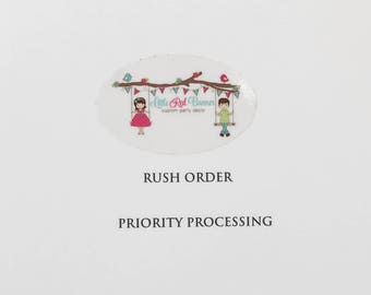 Rush Order - Priority Processing