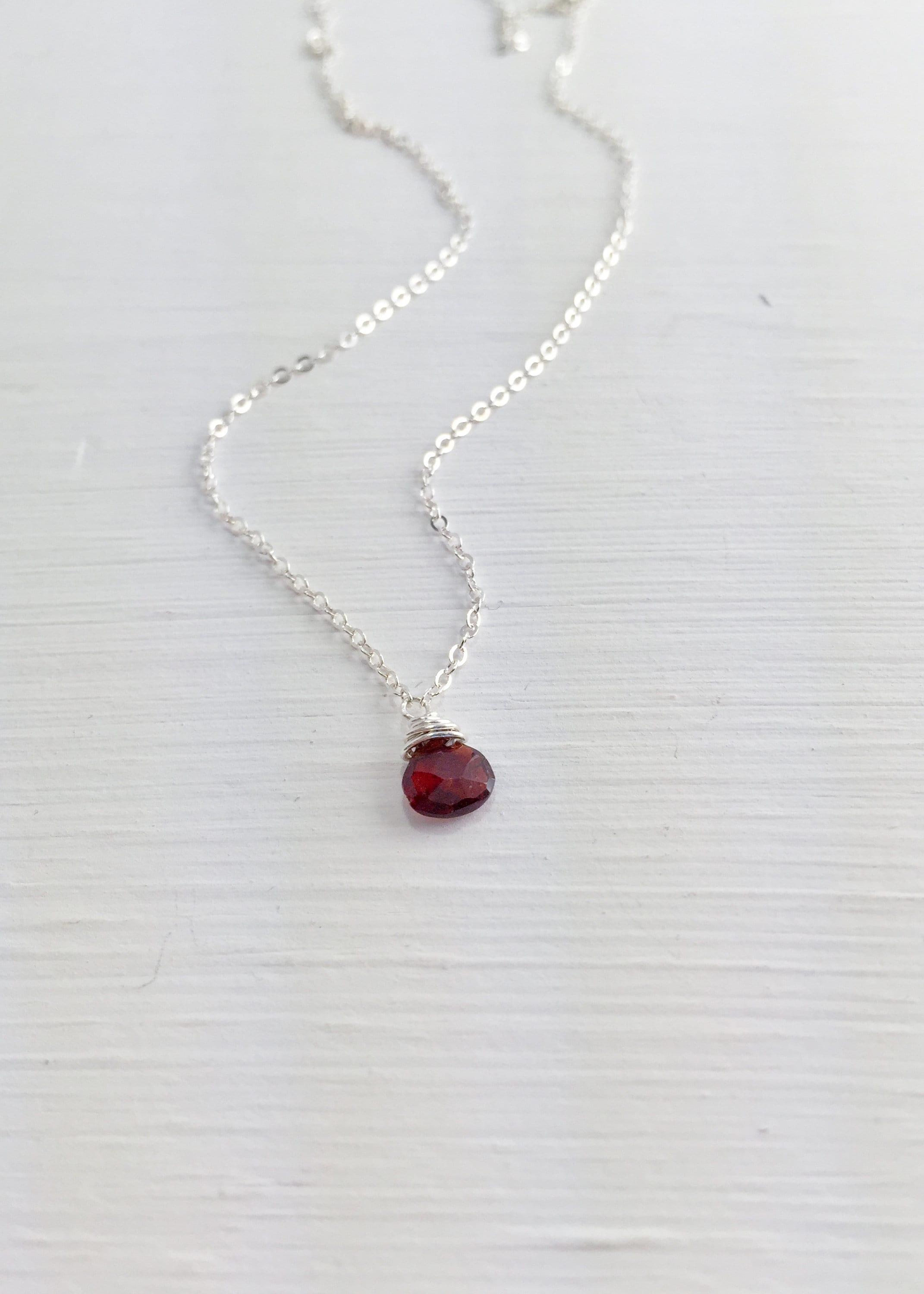 lava labradorite products red necklace lavha gem garnet image chain