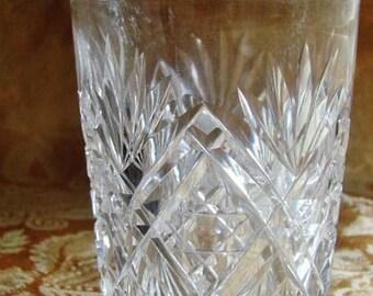 Hawkes Cut Glass Highball Tumbler