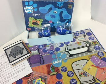 Blues Clues Board Game University Games Nick Jr 1998 Steve Used Age 3-6 Used
