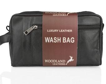 Woodland Leather Eco Wash Bag BR920