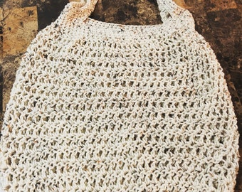 Handmade Crochet Market or Beach Bag