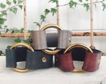 Brass Ring Cuff