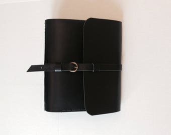 "3"" Ring Binder Leather Case, Handmade Leather Diary, Journal Covers, Notebook"