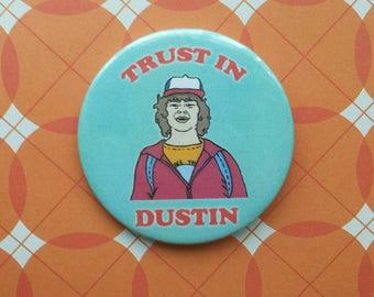 Dustin Henderson Stranger Things badge