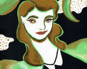 Luna Verde tirage 8 x 10