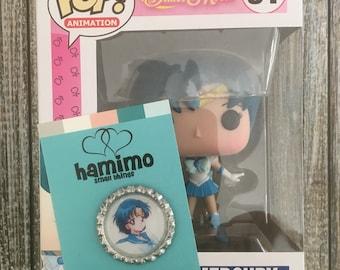 POP! Sailor Mercury (#91) with Sailor Mercury Pinback 2-Pack