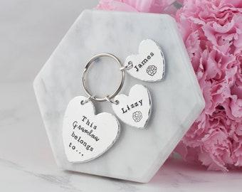 this grandma belongs to, grandma keyring, this grandma belongs, gift for grandma, grandmother gift, grandma keychain, mother's day keychain