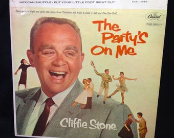"Cliffie Stone ""The Party's On Me"" 7"" EP 45rpm / Hokey Pokey, Bunny Hop"