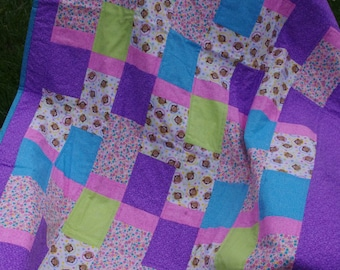 Monkey Business Baby Quilt