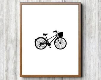 Old Fashion Bike 8 x 10 Printable