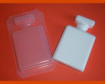 LARGE Vintage Famous Perfume Bottle Handmade Plastic Resin Or Soap Mold