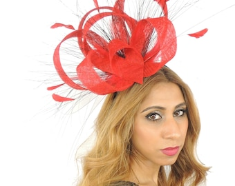 Ralitza Fascinator Hat for Races, Weddings, Party and Special Events on a Headband