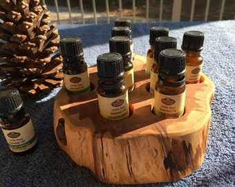 Essential Oil Holder Display Stand (9 Bottles)