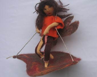Elf doll, child, adolescent, adolescence, rag doll,