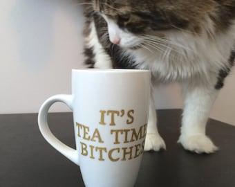Tea Time tall mug