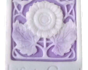 """1 Sunflower Soaps """"Life is Good"""" Guest Soaps!  100% Natural,  HOMEMADE, Handmade, Decorative Soaps!  Choose Scents & Colors!"""