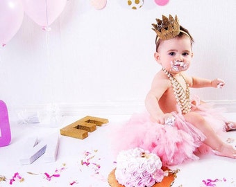 The Royal Court Crown, Lace Princess Crown, Gold Crown, Child's Crown, Mini Crown, Lace Crown, Silver Crown, Baby Headband, Crown Headband