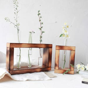 Bud Vase, Test Tube Vase, Flower Vase, Test Tube Rack, Test Tube
