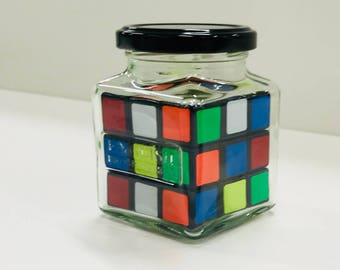 Impossible Cube In A Jar (Mixed Up Cube)