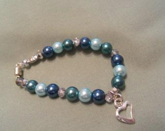 Cool Blue for calming bracelet