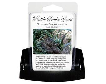 RATTLE SNAKE GRASS // Wax Tarts // Soy Tarts // Candle Tarts // Melting Tarts // Scented Tarts