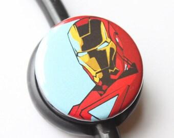Ironman----Stethoscope ID Tag
