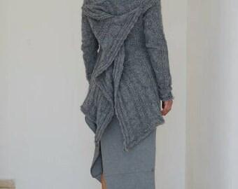 Knit Sweater Top, Loose Sweater, Women Sweater, Plus Size Sweater, Loose Knit Top, Off Shoulder Top, Women Pullover, Cape Top, Designer Top