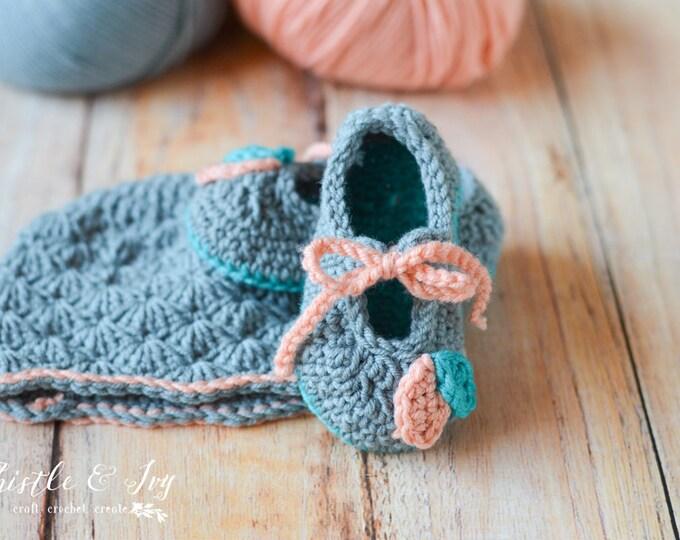 PATTERN SET: Petal Princess Set Crochet Pdf DOWNLOAD