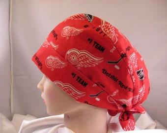 Women's Pixie Scrub Hat Detroit Red Wings