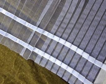 Antique Fabric, French Wedding Fabric, Wrist Cuffs, Vintage Fluted Fabric From Paris, Wedding Fashion Style, Bespoke Bridal Supplies,