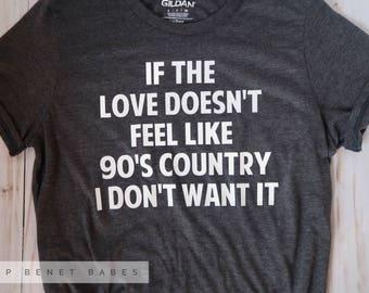 90s COUNTRY LOVE Tee